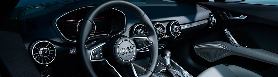 Audi tts coupe interior